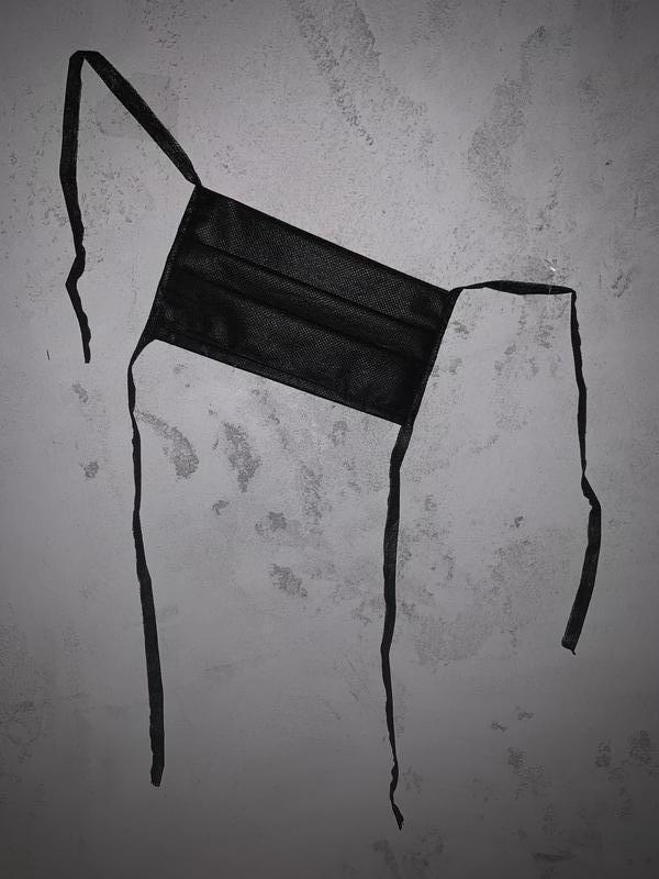 Маски не медицинские защитные чёрные маска для лица / маска чорна - Фото 2