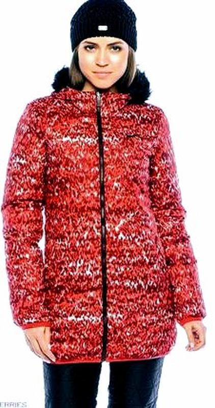 Пуховик женский nike оригинал удлинённая куртка двухсторонняя ... - Фото 3