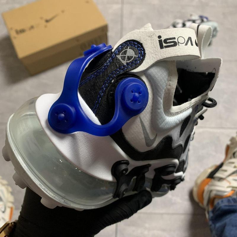 Nike air max 720 ispa white black. - Фото 5