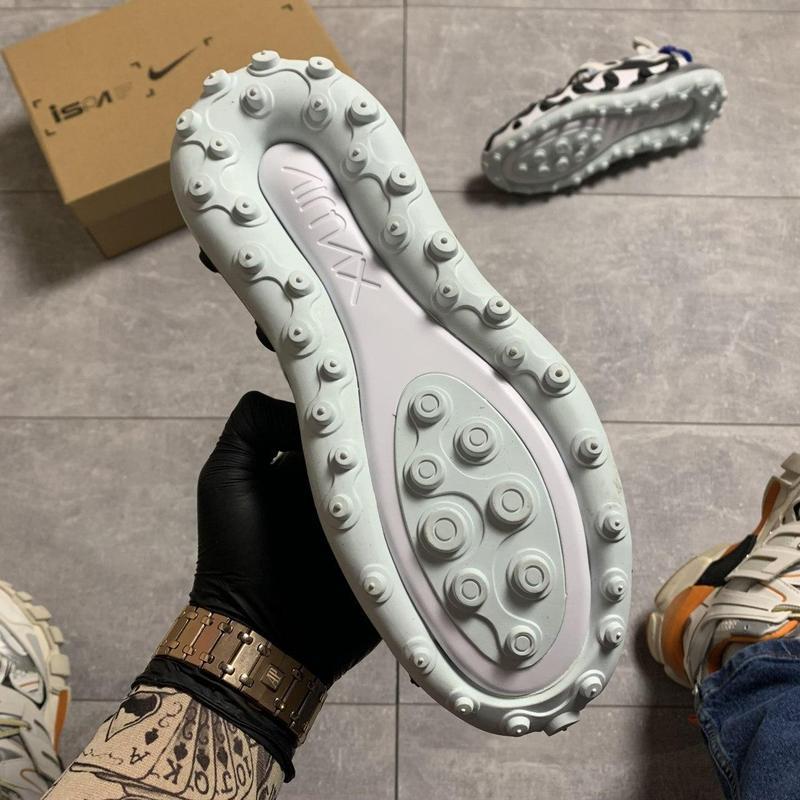Nike air max 720 ispa white black. - Фото 8