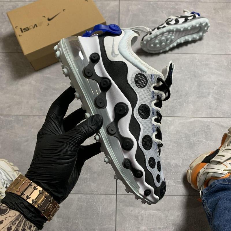 Nike air max 720 ispa white black. - Фото 10