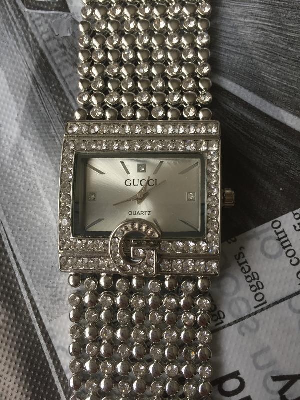 Часы наручные женские серебристые - Фото 2