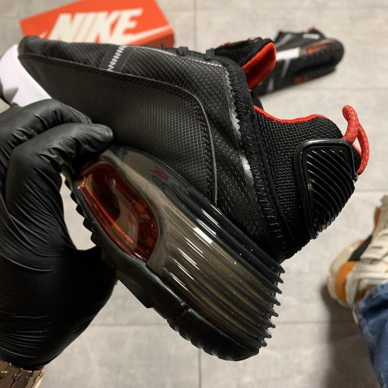 Nike air max 2090 black red - Фото 2