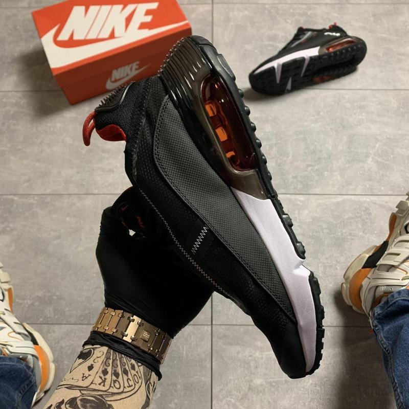 Nike air max 2090 black red - Фото 7