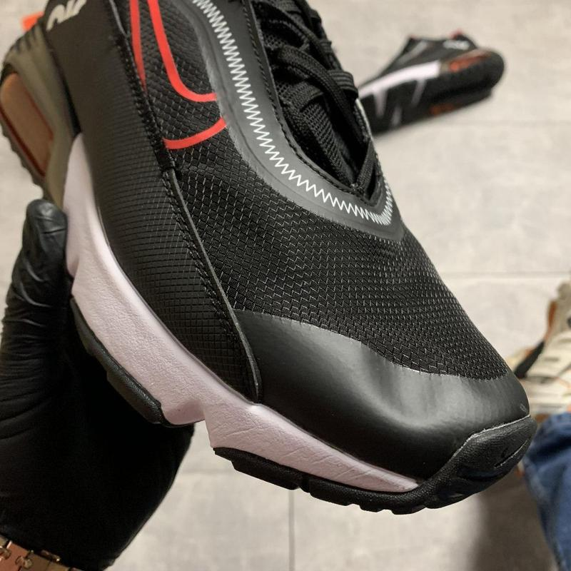 Nike air max 2090 black red - Фото 8