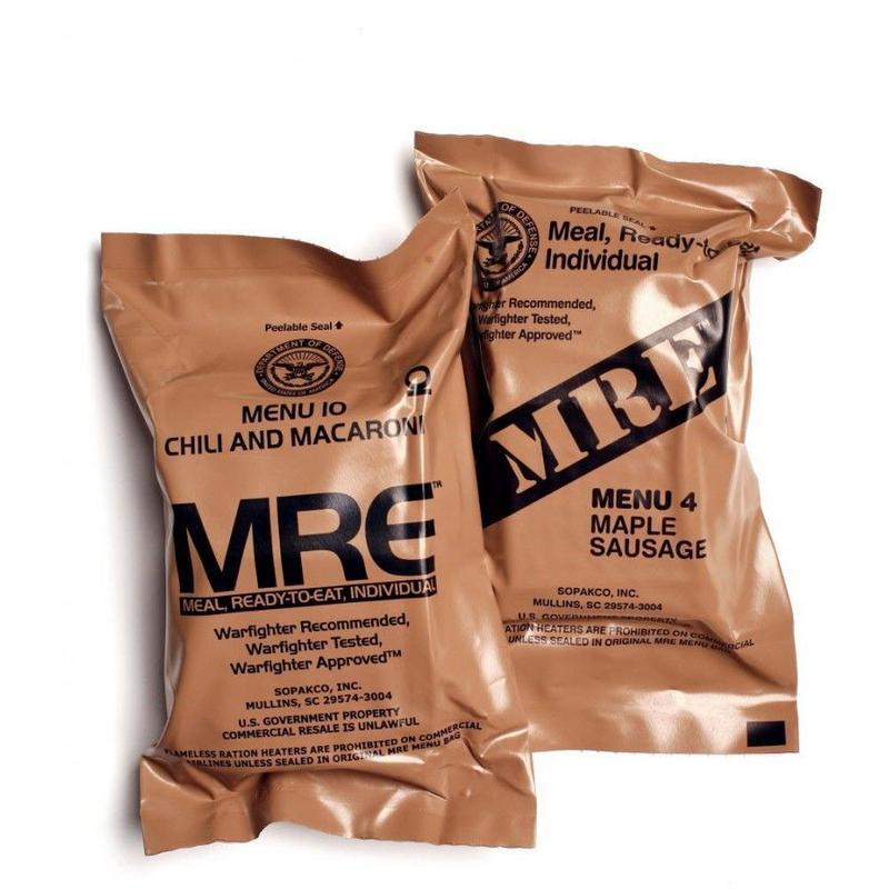 Американский сухой паек MRE - сухпай сух пай, сухпайок, перекус