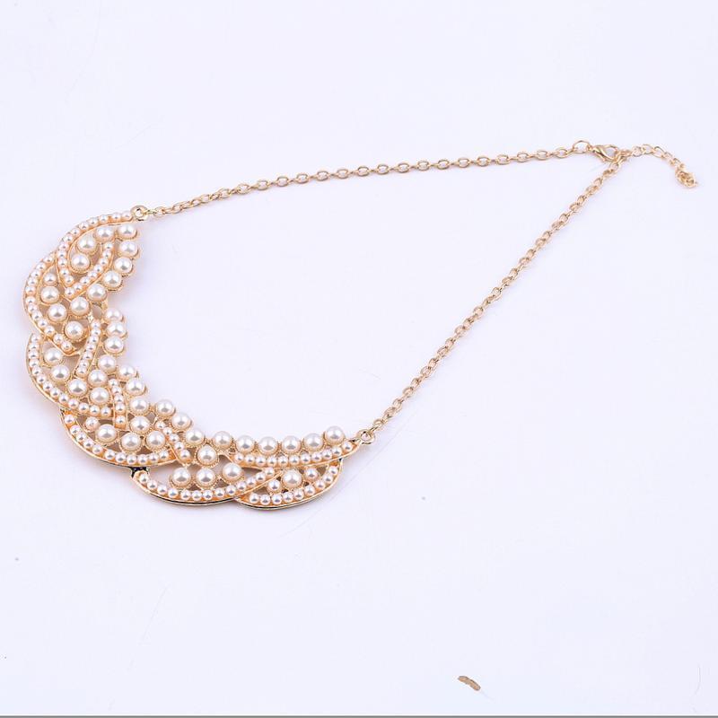 Женственное жемчужное летнее ожерелье чокер колье - Фото 4