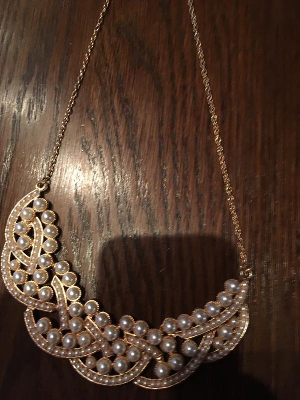 Женственное жемчужное летнее ожерелье чокер колье - Фото 5