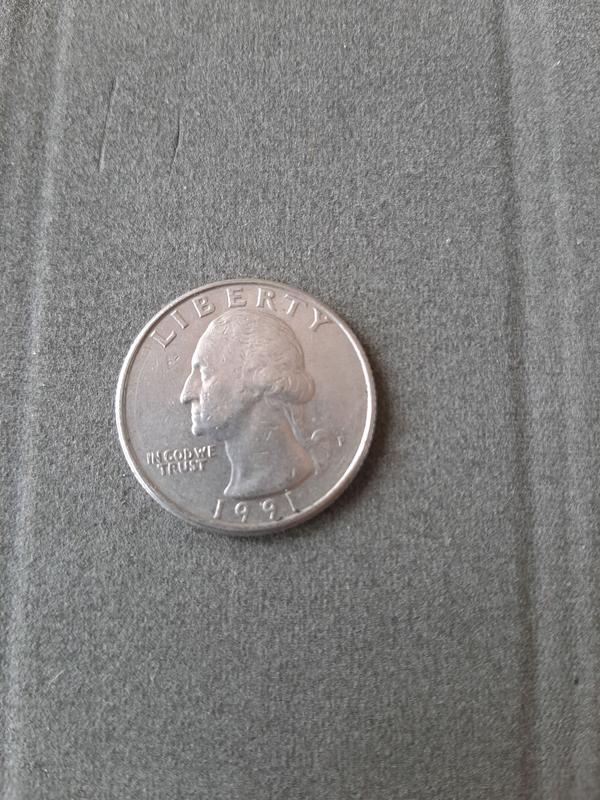 25 центов США 1991 года
