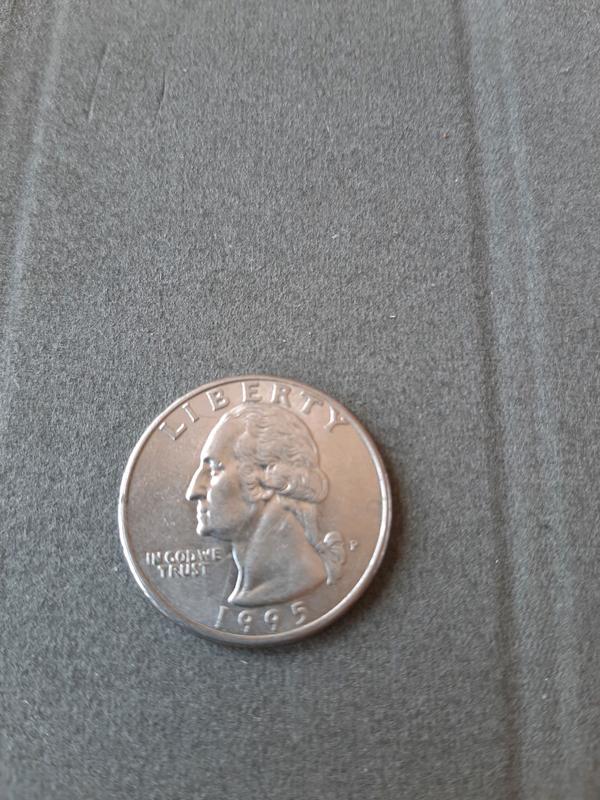 25 центов США 1995 года