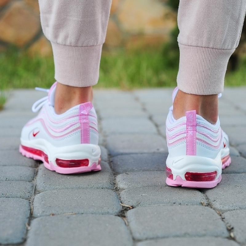 Шикарные женские кроссовки nike 97 в розовом цвете (весна-лето... - Фото 3
