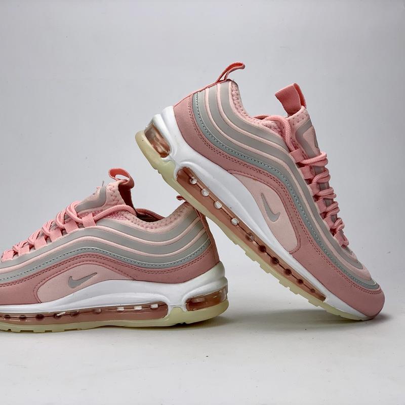 Стильные женские кроссовки nike aor max 97 в розовом цвете (ве... - Фото 3