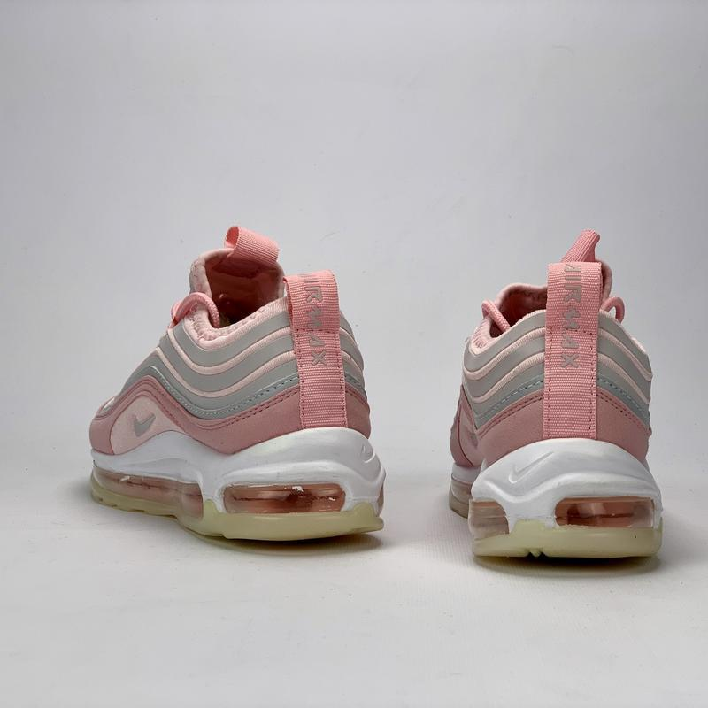 Стильные женские кроссовки nike aor max 97 в розовом цвете (ве... - Фото 4