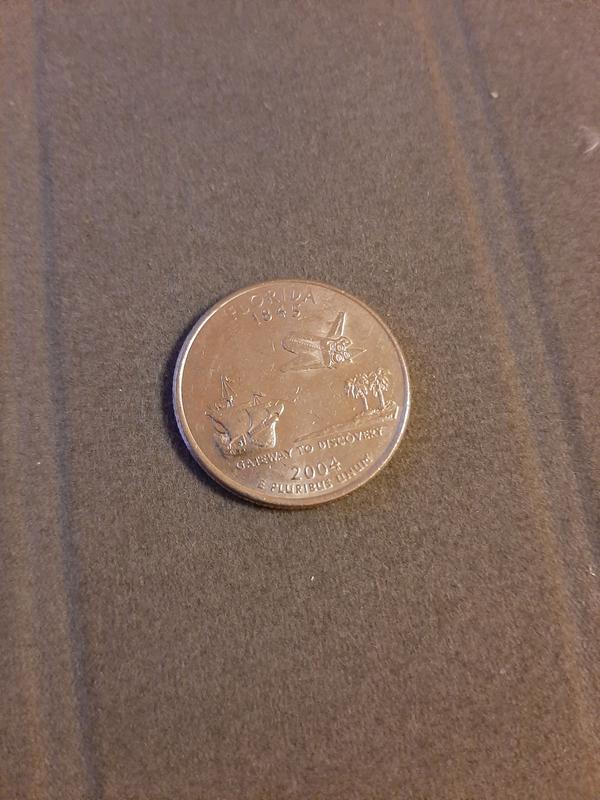 25 центов США 2004, Флорида