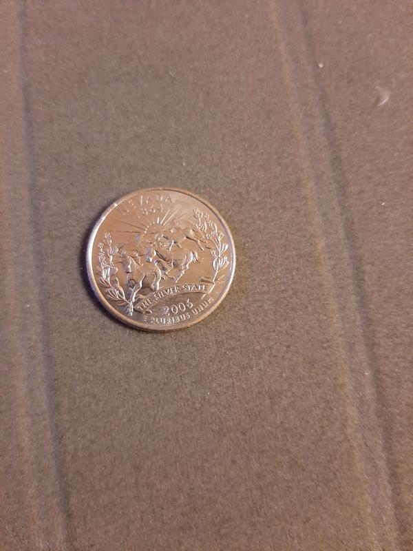 25 центов США 2006 Невада