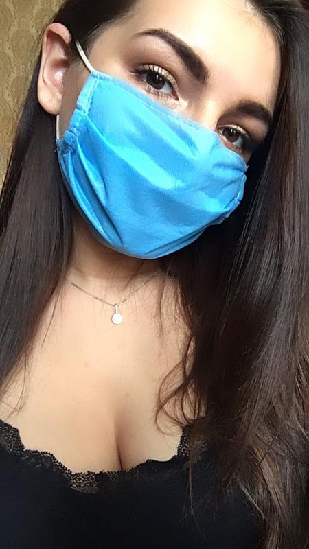 Маска медицинская маски для лица респиратор - Фото 3