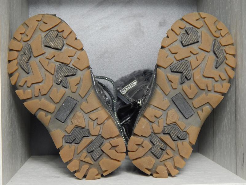 Ботинки для мальчика искусственный мех - Фото 4