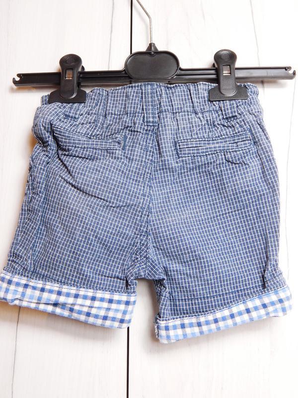 Короткие шорты с подворотом - Фото 2
