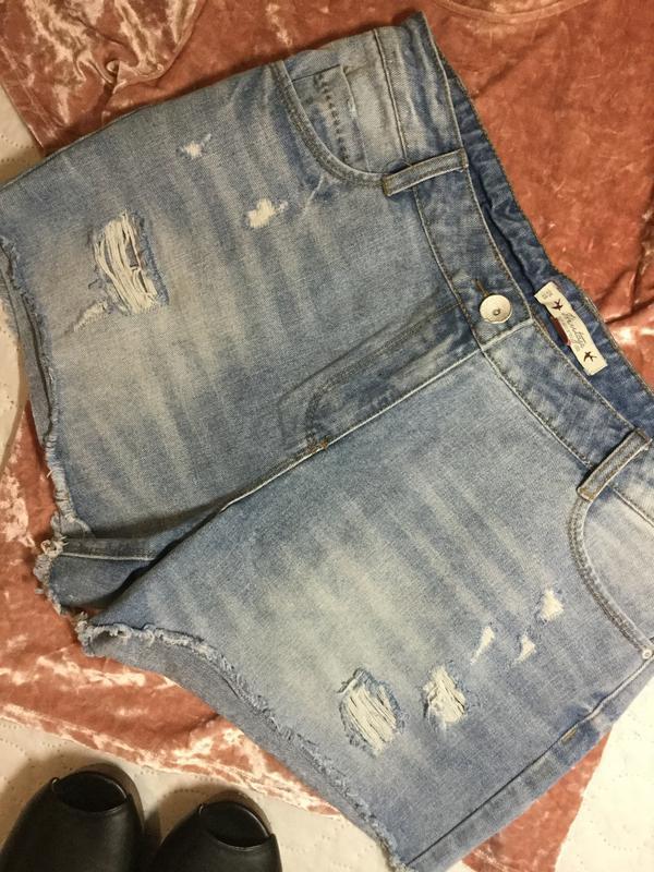 Шорты джинсовые falmer heritage 12 размер - Фото 2