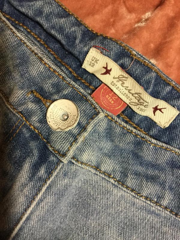 Шорты джинсовые falmer heritage 12 размер - Фото 4
