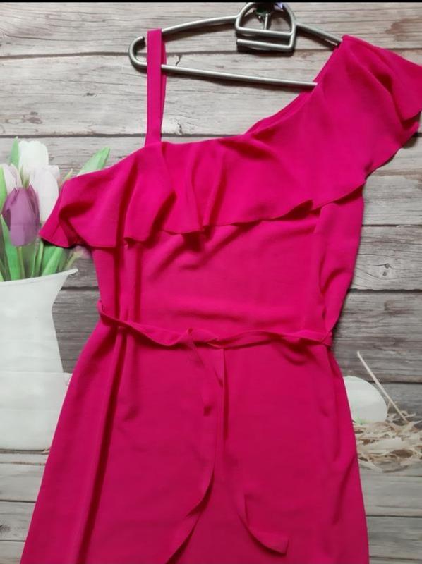 Нарядное платье свободного кроя - Фото 2