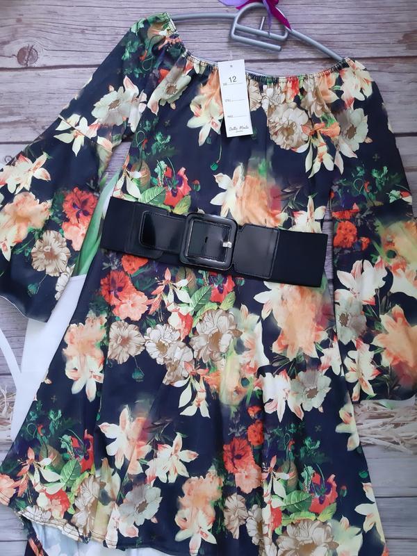 Нарядное новое платье со шлейфом - Фото 2