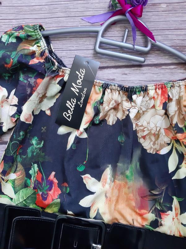 Нарядное новое платье со шлейфом - Фото 3