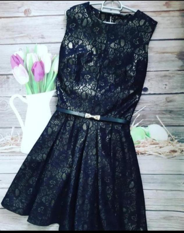 Стильное очень нарядное платье