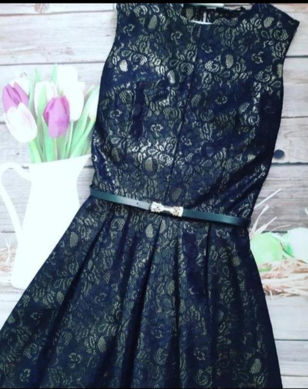 Стильное очень нарядное платье - Фото 2