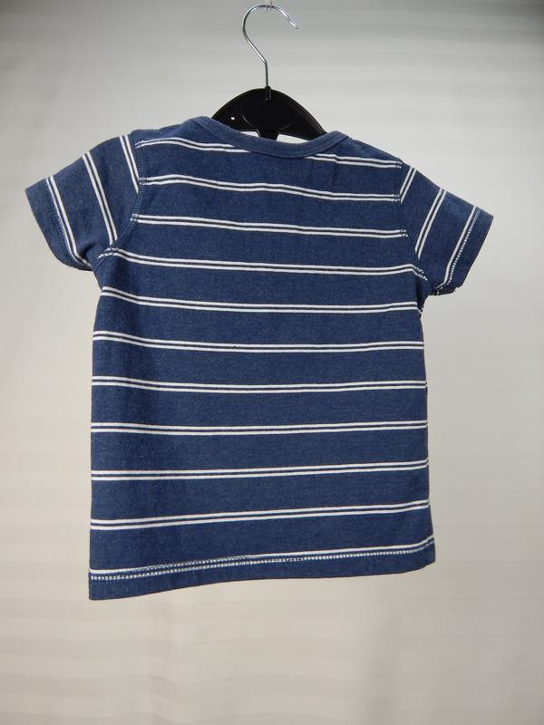 Полосатая футболка для модника - Фото 2