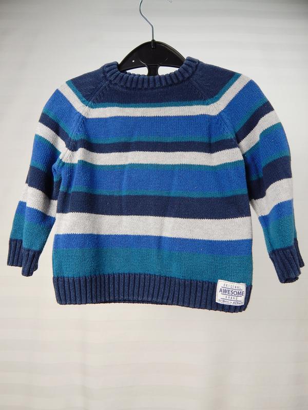 Джемпер, свитер для малыша 12 месяцев