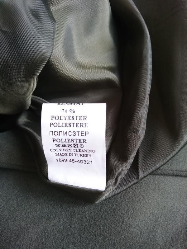 Стильное пальто жилетка на запах - Фото 6