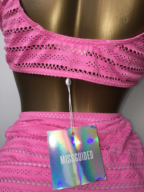 Купальник missguided bikini set - Фото 4