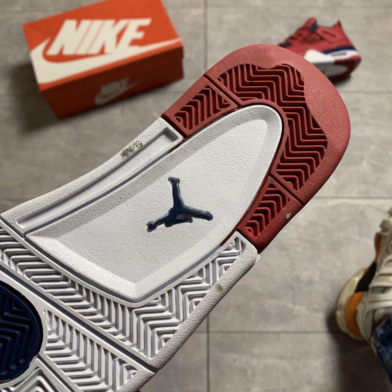 🔥 Nike Air Jordan 4 Retro Red Blue - Фото 3