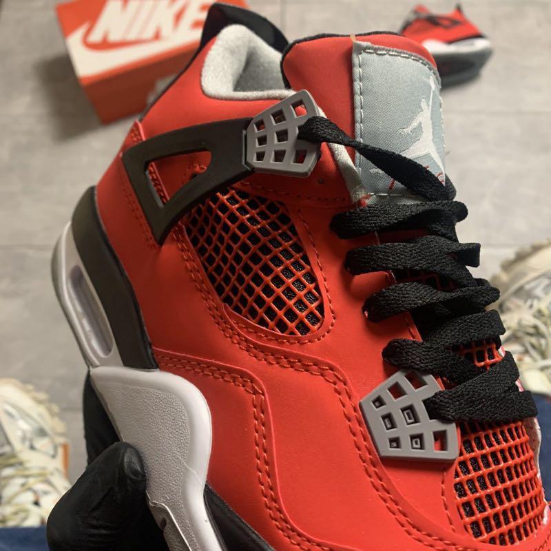 Nike Air Jordan 4 Retro Red Black. - Фото 9