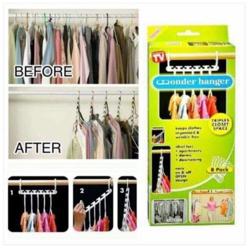 Набор вешалок для одежды Wonder Hanger 8 шт Лучшая цена! - Фото 2