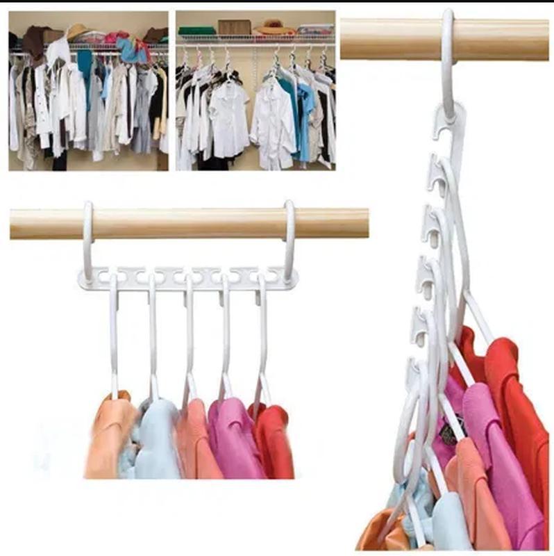 Набор вешалок для одежды Wonder Hanger 8 шт Лучшая цена! - Фото 3