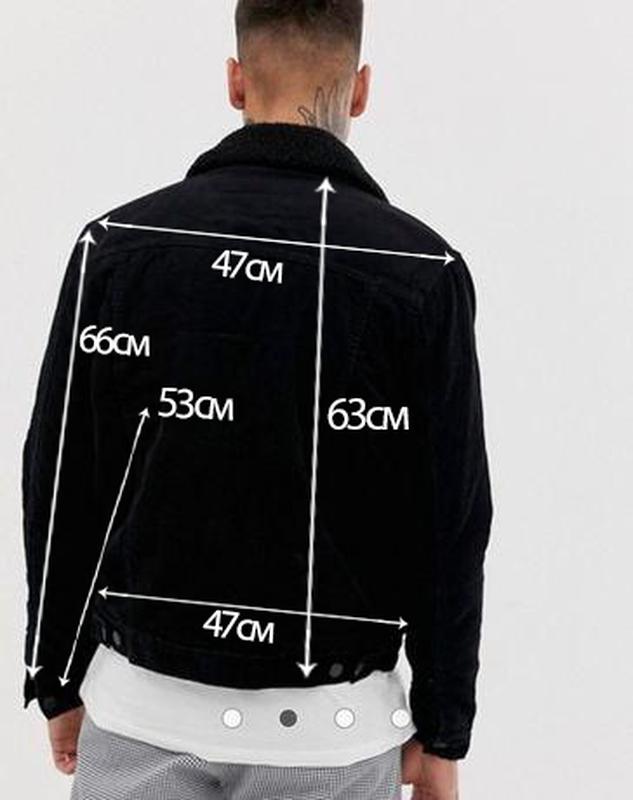 Вельветовая куртка из короткой шерсти - Фото 4