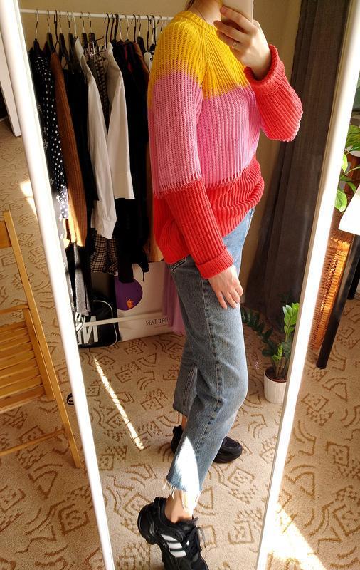 Лёгкий весенний свитер из хлопка - Фото 5