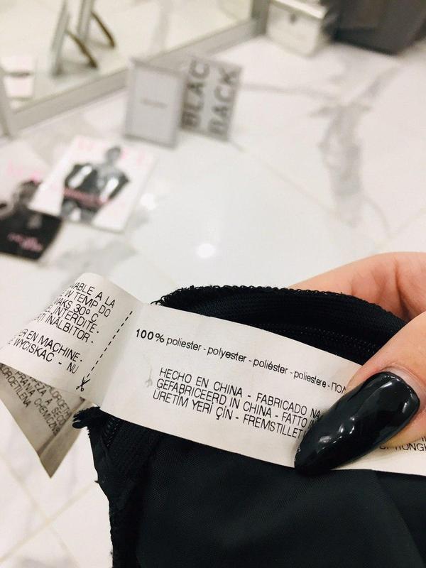 Zara basic прямые бархатные брюки базовая коллекция из велюра ... - Фото 9