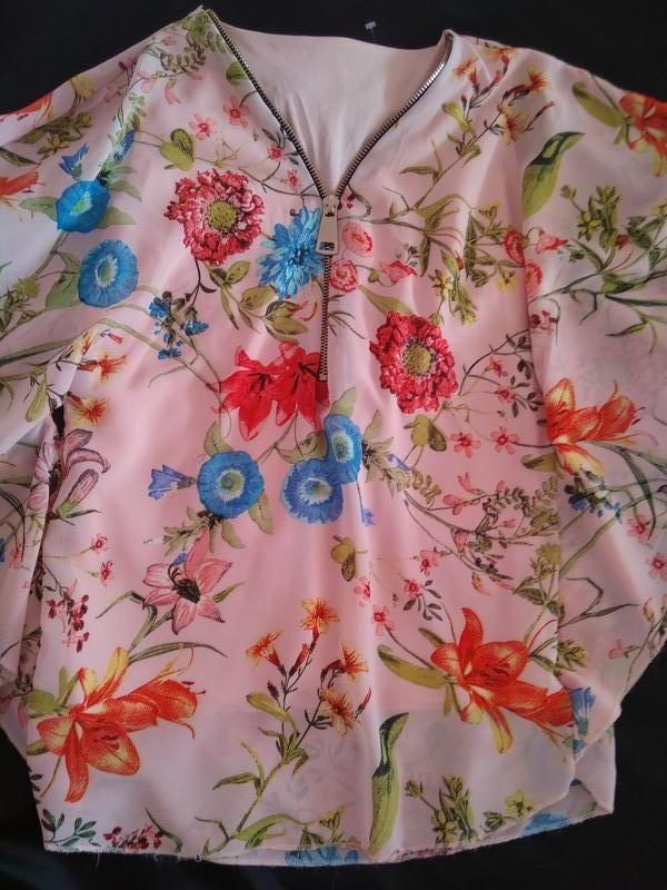 Блуза ( италия ) xs - s #розвантажуюсь - Фото 6