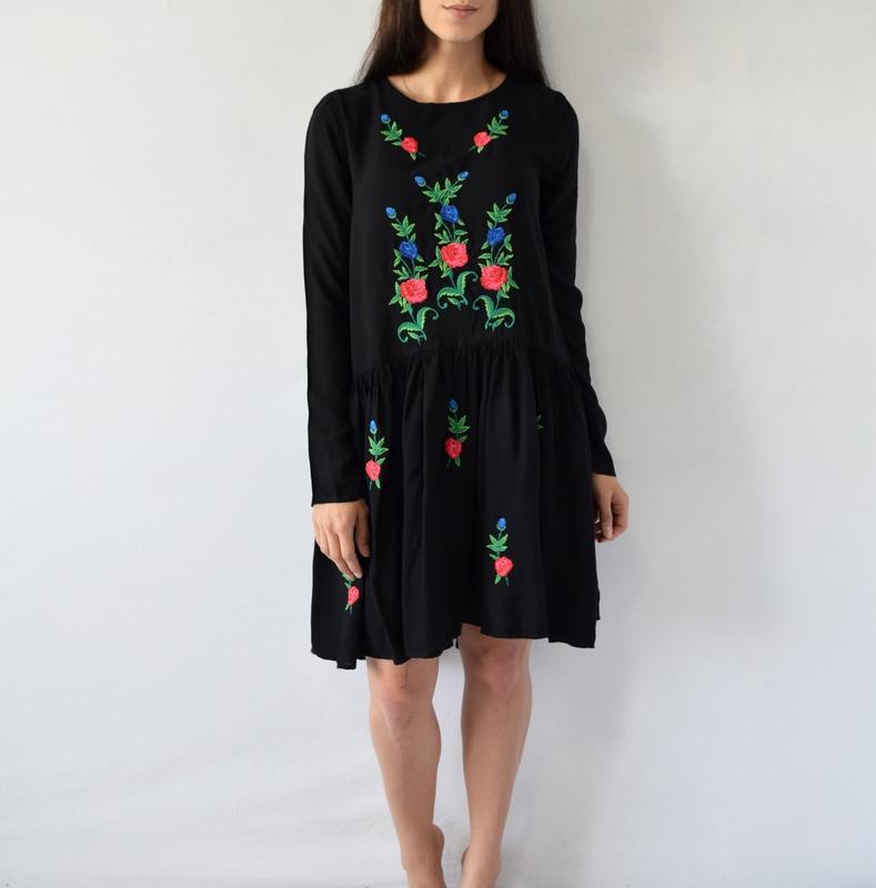 Платье с вышивкой atmosphere - Фото 2