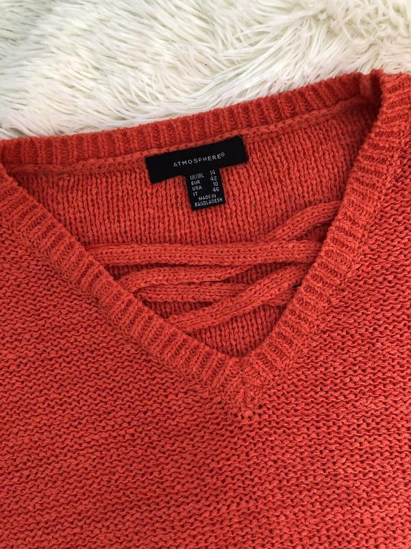 Стильный яркий свитер atmosphere - Фото 2