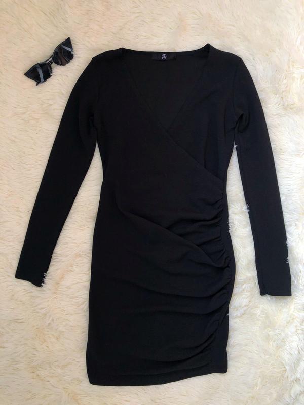 Шикарное маленькое чёрное платье  missguided - Фото 3