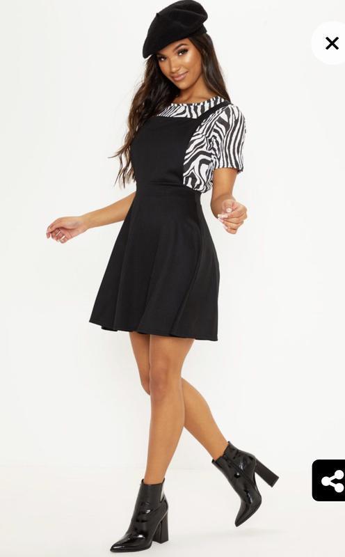Стильное новое с биркой платье сарафан prettylittlething