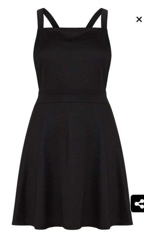 Стильное новое с биркой платье сарафан prettylittlething - Фото 3
