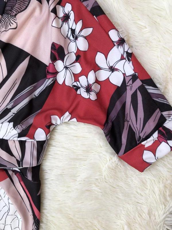 Новое с биркой миди платье-футляр на запах phase eight размер 50 - Фото 4