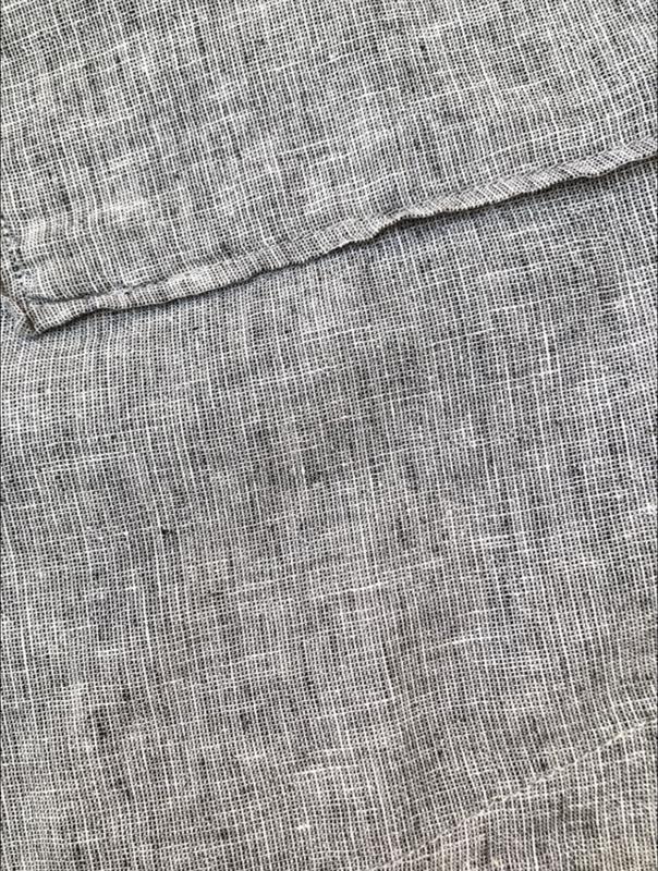 Серое льняное платье new look большой размер 56 новая коллекция - Фото 5