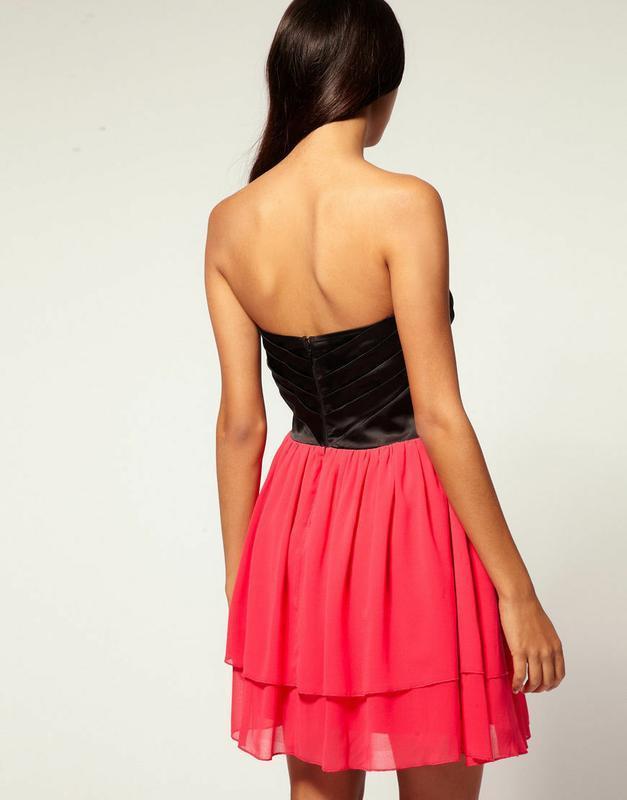 Lipsy vip платье бустье - Фото 2