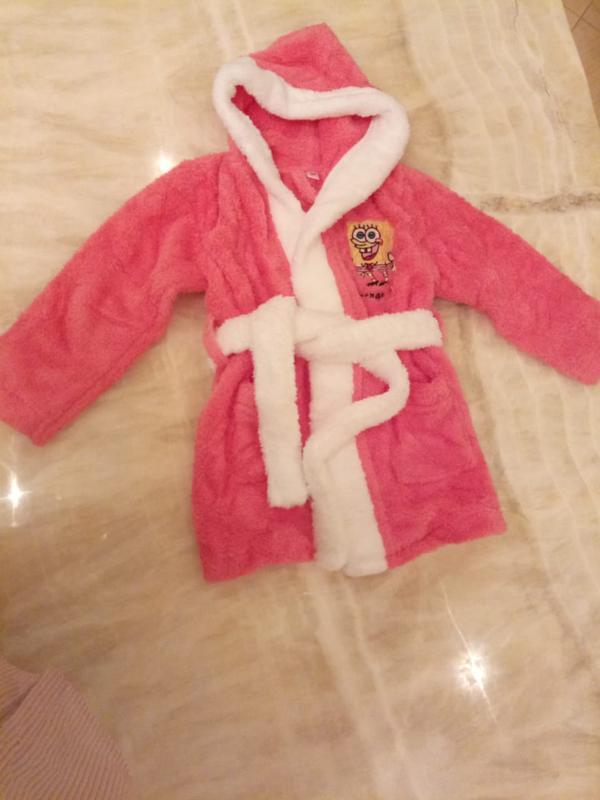 Детский махровый халат для девочки.подарок для девочки